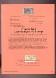 USPS Souvenir Page 93-04   2747      29c Oregon Trail 93-04