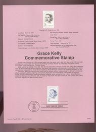 USPS Souvenir Page 93-06   2749      29c Grace Kelly 93-06