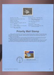 USPS Souvenir Page 93-17   2543      $2.90 Priority Mai 93-17
