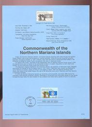 USPS Souvenir Page 93-32   2804      29c Mariana Island 93-32
