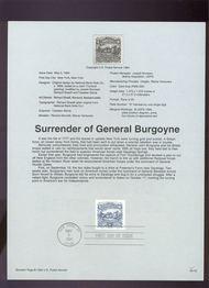 USPS Souvenir Page 94-12   2590      $1.00 Burgoyne 94-12