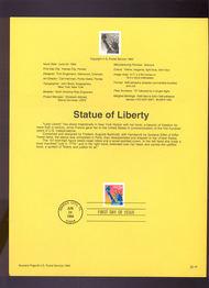 USPS Souvenir Page 94-18   2599      29c Liberty Self-A 94-18