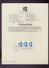USPS Souvenir Page 94-19   2814C     19c Fishing Boat C 94-19