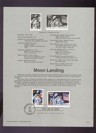 USPS Souvenir Page 94-21   2841-42    29c-$9.95 Moon Lan 94-21