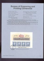 USPS Souvenir Page 94-34   2875      ($2.00 x 4) BEPS/S 94-34