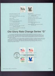 USPS Souvenir Page 94-G1   2890//2877   GABNC 94-G1