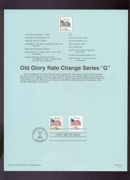 USPS Souvenir Page 94-G4   2886-87    G Self Adhesive 94-G4
