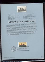USPS Souvenir Page 96-07   3059      32c Smithsonian 96-07