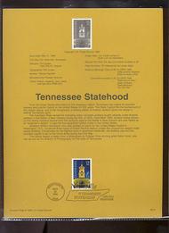 USPS Souvenir Page 96-19   3070      32c Tennessee 96-19