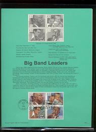 USPS Souvenir Page 96-31   3099a     32c Big Band Leade 96-31