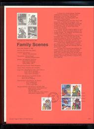 USPS Souvenir Page 96-36   3111a/6a    32c Family Hol. Sc 96-36
