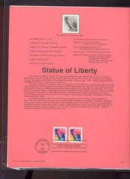 3122/22b USPS Souvenir Page 97-04 32c Liberty 97-04