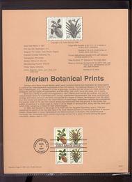3126-9 USPS Souvenir Page 97-07 32c Botanical Prints 97-07