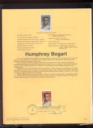 3152 USPS Souvenir Page 97-17 32c Humphrey Bogart 97-17