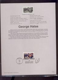 3147 USPS Souvenir Page 97-20A 32c George Halas 97-20A