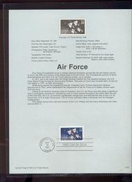 3167  USPS Souvenir Page 97-26 32c Air Force 97-26