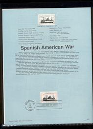 3192     32c Remember the Maine USPS Souvenir Page 98-04