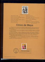 3203     32c Cinco de Mayo USPS Souvenir Page 98-08