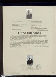 3226     32c Alfred Hitchcock USPS Souvenir Page 98-23