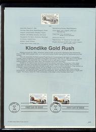 3235     32c Klondike Goldrush USPS Souvenir Page 98-26