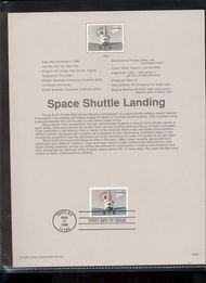 3261     $3.20 Space Shuttle USPS Souvenir Page 98-38