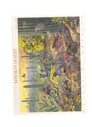 3293     33c Sonoran Desert MS10 USPS Souvenir Page 99-11