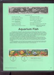 3317-20   33c Aquarium Fish S5 USPS Souvenir Page 99-21
