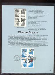3321-24   33c Xtreme Sports B4 USPS Souvenir Page 99-22