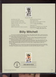 3330     55c Billy Mitchell USPS Souvenir Page 99-26