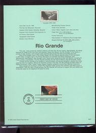 C134     40c Rio Grande USPS Souvenir Page 99-27