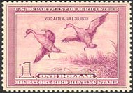 RW 5 1938 Duck Stamp $1 Pintails F-VF Mint NH rw5nh