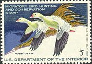 RW44 1977 Duck Stamp $5 Ross's Geese F-VF Mint NH rw44nh