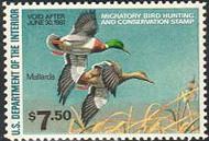 RW47 1980 Duck Stamp $7.50 Mallards F-VF Mint NH rw47nh