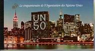 UNG 276 50th Anniversary Prestige Booklet UN Geneva Mint NH ung276
