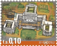 UNG 530-1 10c, 50c, Headquarters Buildings ung530