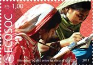 UNG 538-39 1, 1.30 fr Econ & Security Council Education ung538