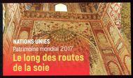 UNG 640 World Heritage Silk Roads Prestige Booklet ung640bklt