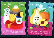 UNG 644-645 1, 1.50 Fr World Food Day Set of 2 Singles ung644-5