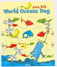 UNNY 1067 46c World Oceans Day Sheet of 12 unny1067
