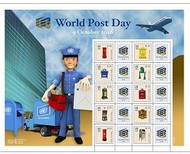 UNNY 1146 World Post Day Personalized Sheet ny1146
