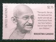 UNNY 1227 $2.75 Definitive Gandhi Mint NH Single unny1227