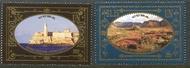UNNY 1229-30 55c, $1.15 World Heritage Cuba Set  of 2 Mint NH Singles unny1229-30