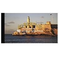 UNNY 1230 World Heritage Cuba Prestige Booklet unny1230