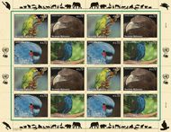 UNV 501-4 .70e 2011 Endangered Species Sheet of 16 unv504s