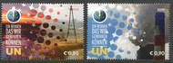 UNV 649-50 €.80 €.90  Climate Change Set of 2 Mint NH Singles  unv649-50