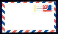 UXC10   9c Eagle, Precancel F-VF Mint Airmail Postal Card UXC10