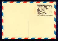 UXC13   15c Niagara F-VF Mint Airmail Postal Card UXC13