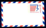 UXC14   11c Mail Early F-VF Mint Airmail Postal Card UXC14