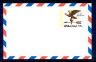 UXC15   18c Visit USA. F-VF Mint Airmail Postal Card UXC15