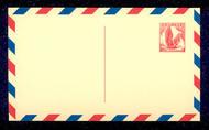 UXC3   5c Eagle, redrawn F-VF Mint Airmail Postal Card UXC3